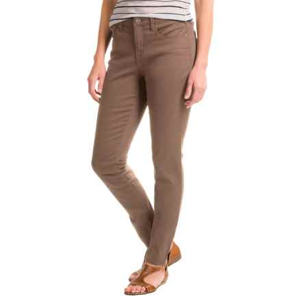 Core Replenishment Colored Skinny Jeans (For Women) in Taupe - Closeouts