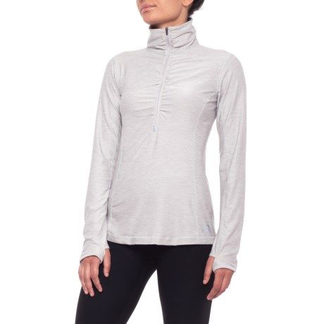 Image of Core Space-Dye Jacket - Zip Neck (For Women)