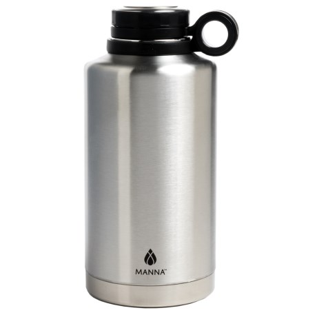 Core Stainless Steel Growler Bottle - 64 fl.oz., BPA-Free in Stainless Steel