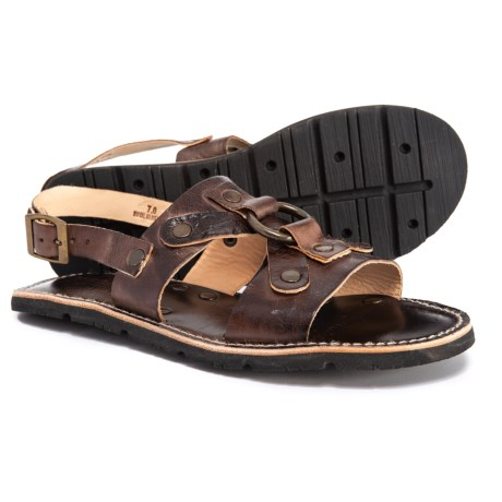 Image of Corinth Flat Sandals - Leather (For Women)