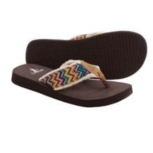 Corkys Footwear Star Flip-Flops (For Women) in Bright Multi - Closeouts