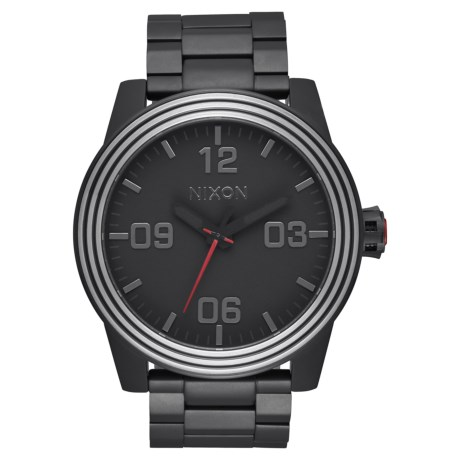 Image of Corporal Watch - 48mm, Stainless Steel (For Men)