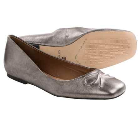 Corso Como Astrid Shoes - Flats (For Women) in Dark Silver Antique Silk Calf - Closeouts