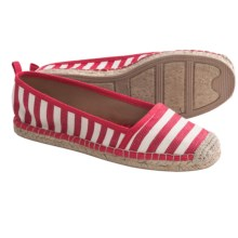 Corso Como Maddy Shoes - Slip-Ons (For Women) in Red Stripe - Closeouts