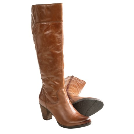 Corso Como Royston Knee-High Boots - Leather (For Women) in Luggage Desert