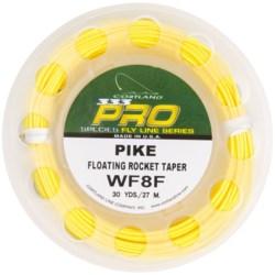 Cortland 333 Pro Pike Fly Fishing Line - Floating Rocket Taper, 30 yds. in Yellow