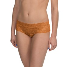 Cosabella Never Say Never Hottie Panties - Boy Shorts (For Women) in Butter Squash - Closeouts
