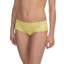 Cosabella Never Say Never Hottie Panties - Boy Shorts (For Women) in Citron - Closeouts