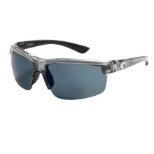 Costa Ansil Sunglasses - Polarized, Mirrored 580P Lenses in Silver/Blue Mirror 580P - Closeouts