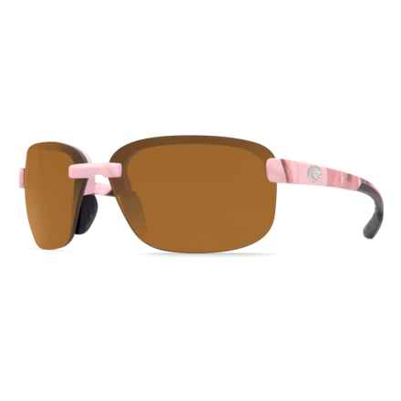 Costa Austin Camouflage Sunglasses - Polarized 580P Lenses in Realtree Ap Pink Camo/Amber - Closeouts