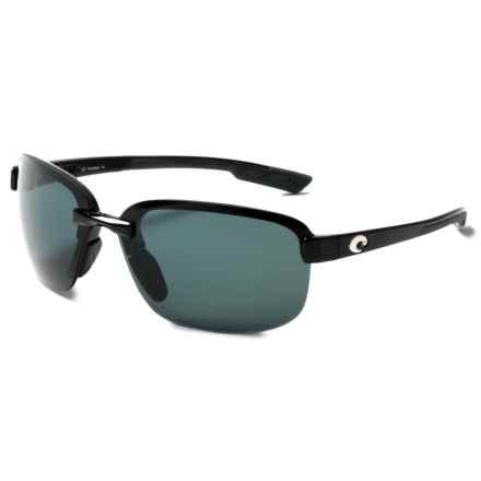 Costa Austin Sunglasses - Polarized 580P Lenses in Black/Gray - Closeouts