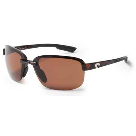 Costa Austin Sunglasses - Polarized 580P Lenses in Tortoise/Copper - Closeouts