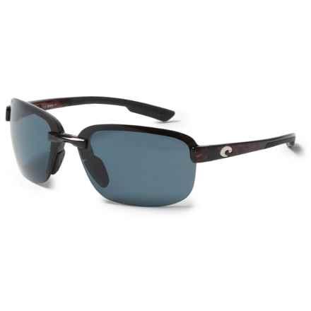 Costa Austin Sunglasses - Polarized 580P Lenses in Tortoise/Gray - Closeouts