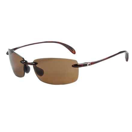 Costa Ballast Sunglasses - Polarized 580P Lenses in Tortoise/Amber - Closeouts