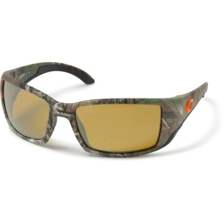 a3f15ee8ae43 Costa Blackfin Sunglasses - Polarized 580P Mirror Lenses (For Men) in  Realtree Xtra Camo