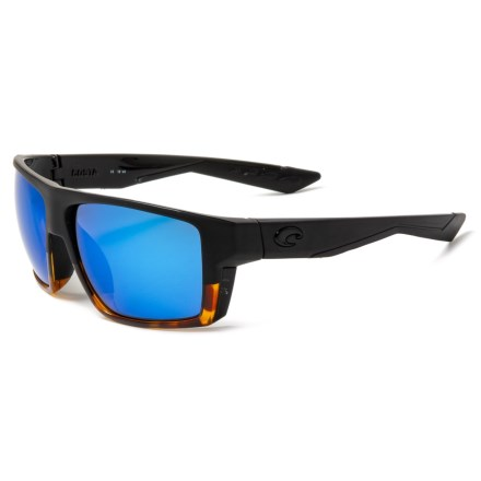 0ffa6b2911 Costa Bloke Sunglasses - Polarized 400G Glass Mirror Lenses (For Men) in  Matte Black