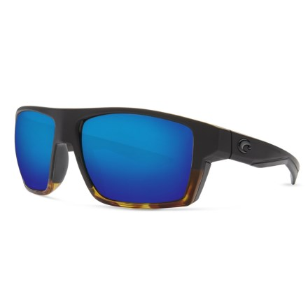 6a4f3657a4732 Costa Bloke Sunglasses - Polarized 400G Mirror Lenses (For Men) in Matte  Black