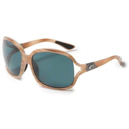 Costa Boga Sunglasses - Polarized 580P Lenses (For Women) in Morena/Gray - Closeouts