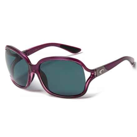 Costa Boga Sunglasses - Polarized 580P Lenses (For Women) in Orchid/Gray - Closeouts