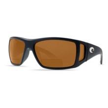 Costa Bomba Sunglasses - Polarized C-Mate Lenses in Black/Amber C-Mate - Closeouts