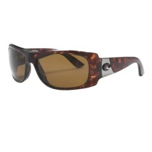 Costa Bonita Sunglasses - Polarized in Tortoise/Amber Cr-39 - Closeouts