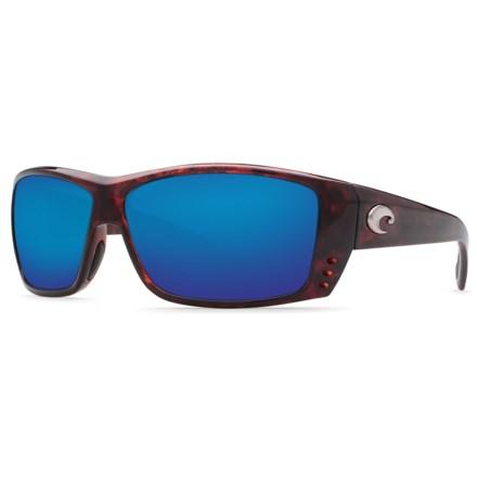 2468c75373 Costa Cat Cay Sunglasses - Polarized 580P Mirror Lenses (For Men) in  Tortoise