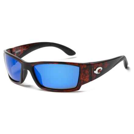 Costa Corbina Sunglasses - Polarized 400G Lenses in Tortoise/Blue - Closeouts