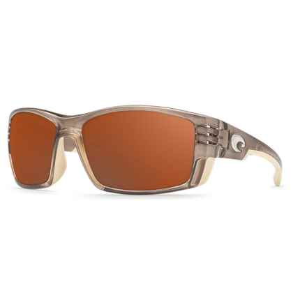 Costa Cortez Sunglasses - Polarized 580P Lenses in Crystal Bronze/Copper - Closeouts
