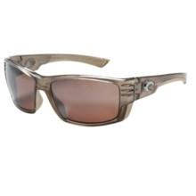 Costa Cortez Sunglasses - Polarized, Mirrored 580P Lenses in Crystal Bronze/Silver Mirror - Closeouts