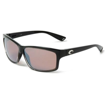 7d69efb023f15 Costa Cut Sunglasses - Polarized 580P Mirror Lenses (For Men) in  Squall Silver