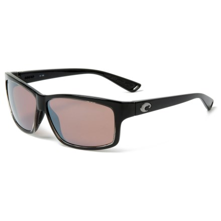 679381c85f Costa Cut Sunglasses - Polarized 580P Mirror Lenses (For Men) in  Squall Silver