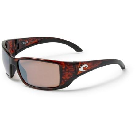35f68ac85d070 COSTA DEL MAR Blackfin Sunglasses - Polarized 580P Mirror Lenses in  Tortoise Copper