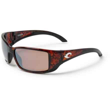 c59d0f386eeb COSTA DEL MAR Blackfin Sunglasses - Polarized 580P Mirror Lenses in  Tortoise/Copper