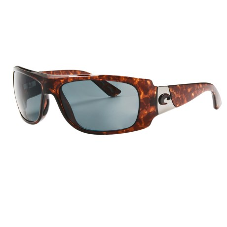 Costa Del Mar Bonita Sunglasses - Polarized 580P Lenses in Tortoise/Amber 580P