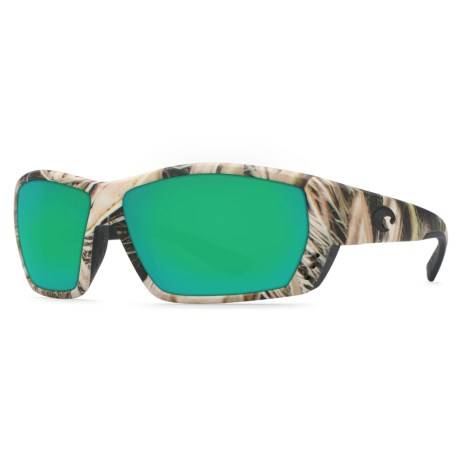 9d993014bef8 COSTA DEL MAR Corbina Sunglasses - Polarized 400G Glass Mirror Glass Lenses  in Mossy Oak/