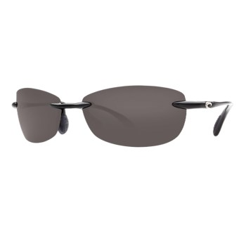 Costa Del Mar Filament Sunglasses - Polarized in Black/Grey
