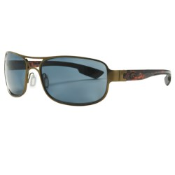 Costa Del Mar Grand Isle Sunglasses - Polarized, 580P Lenses in Gunmetal/Amber 580P