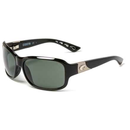 af8b8712521 COSTA DEL MAR Inlet Sunglasses - Polarized 580P Mirror Lenses (For Women)  in Shiny