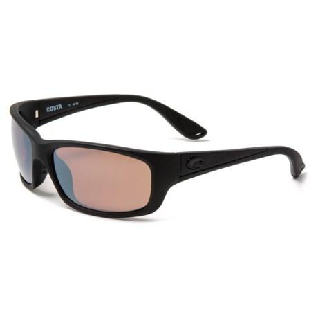 b627a94bc38e7 COSTA DEL MAR Jose Sunglasses - Polarized 580P Mirror Lenses in  Blackout Copper