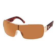 Costa Del Mar Panga Sunglasses - Polarized in Gold/Amber - Closeouts