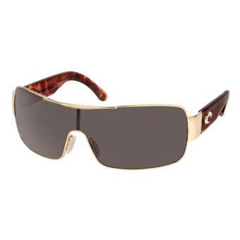 Costa Del Mar Panga Sunglasses - Polarized in Gold/Grey