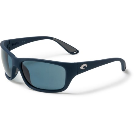 169603a6d613c COSTA DEL MAR Tasman Sunglasses - Polarized 580P Lenses in Sea Matte  Blue Gray