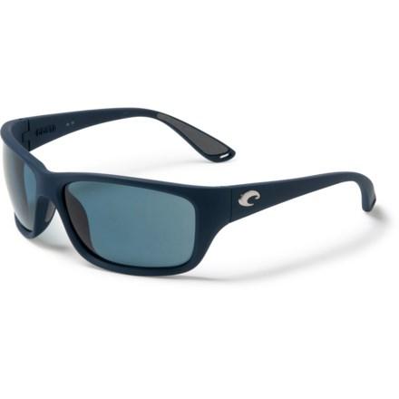 d66b44afc768b COSTA DEL MAR Tasman Sunglasses - Polarized 580P Lenses in Sea Matte Blue  Gray