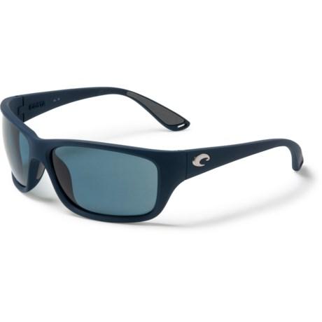 66e3a34faa21 COSTA DEL MAR Tasman Sunglasses - Polarized 580P Lenses in Sea Matte Blue/ Gray