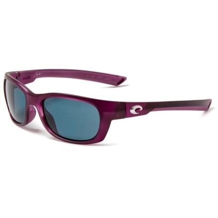 7c0f64fde8d COSTA DEL MAR Trevally Sunglasses - Polarized 580P Lenses (For Women) in  Matte Orchid