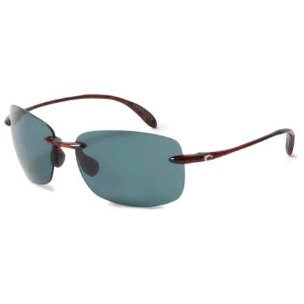 Costa Destin Sunglasses - Polarized 580P Lenses in Tortoise/Gray - Closeouts