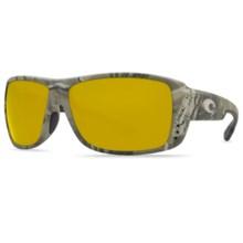 Costa Double Haul Camo Sunglasses - Polarized 580P Lenses in Realtree Ap/Sunrise 580P - Closeouts
