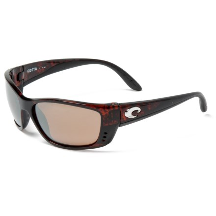 41a65e33fa Costa Fisch Sunglasses - Polarized 580G Glass Lenses (For Men) in  Tortoise Silver