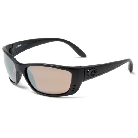 880ed5dd4b Costa Fisch Sunglasses - Polarized 580G Glass Mirror Lenses in  Blackout Silver