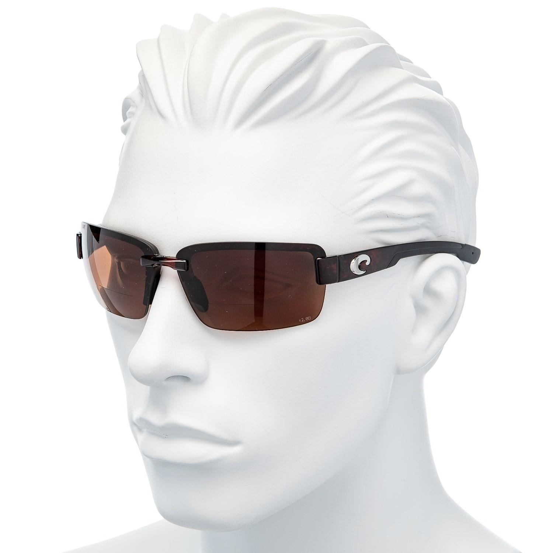 636aac8404 Costa Galveston Reader Sunglasses - C-Mate 2.0 Polarized 580P Mirror Lenses  (For Men)